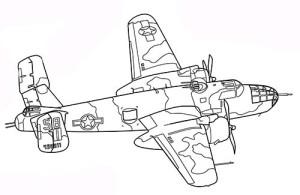 военный самолет