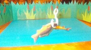 игра поймай рыбку