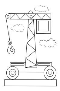 раскраска транспорт