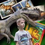Динозавры. Книжка-раскраска.