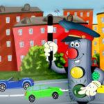 Как научить детей правилам дорожного движения с помощью картинок-раскрасок