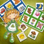 Лото с картинками для малышей. 7 вариантов игры.