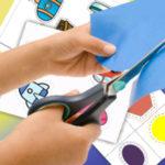 Как маме научить ребенка вырезать ножницами с помощью шаблонов