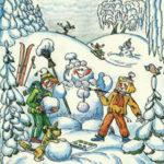 Стихи про зиму для детей (для заучивания наизусть)